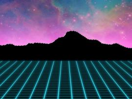 1980s Neon Use The Lasso Tool To Hand Frame Backgrounds