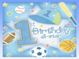 1st Birthday Backgrounds