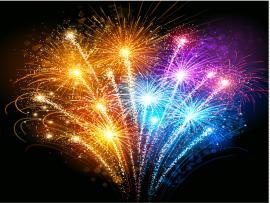 2014 Fireworks Geous Fireworks Slides Backgrounds