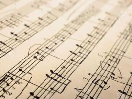 2181595 Retro Sheet Music Abstract Art Stock Photo Music Quality Backgrounds