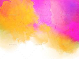 25 Splendid Waterlor & Textures Presentation Backgrounds
