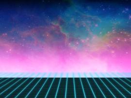 80s Grid Design Backgrounds