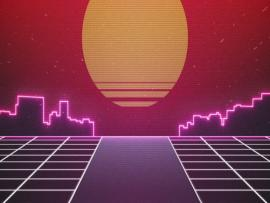80s Stock Footage Graphic Backgrounds