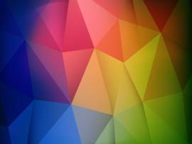 Abstract Colorful Geometric Shapes Design Backgrounds