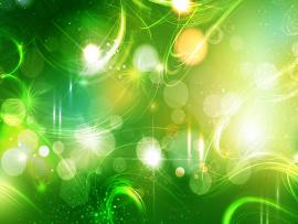 Abstract Green Bright Backgrounds