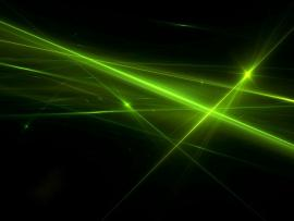 Abstract Green Photo Slides Backgrounds