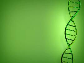 Abstract Looping DNA For PowerPoint Design Backgrounds