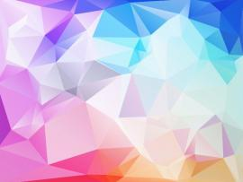 Abstract Low Poly Frame Backgrounds
