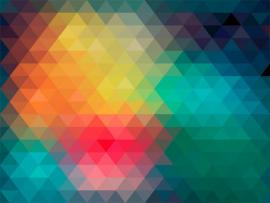 Abstract Made By Colorful Triangles Clipart Backgrounds