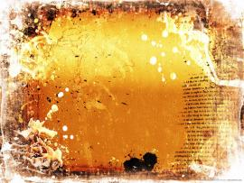Abstract Orange Grunge Texture Template Backgrounds