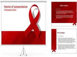 AIDS PowerPoint Template & ID 0000000452  SmileTemplates   Picture Backgrounds