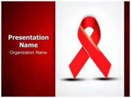 Aids PowerPoint Template  SubscriptionTemplates  Download Backgrounds