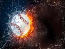 Amazing Sports Baseball Template Backgrounds