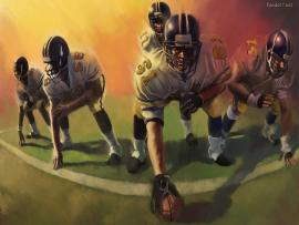 American Football Presentation Backgrounds