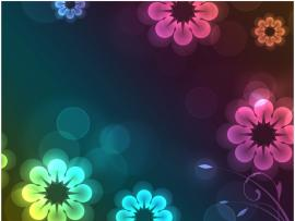 Animated Flower Frame Backgrounds