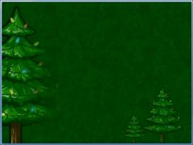 Animatedxmastree Simple Dark Green With Christmas Tree Slides Backgrounds