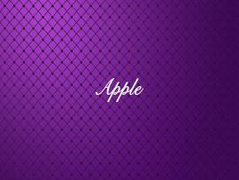 Apple Abstract Purple Quality Backgrounds