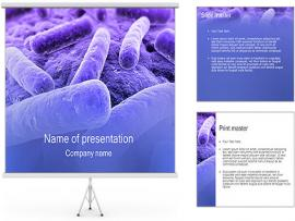 Bacteria PowerPoint Template Photo Backgrounds