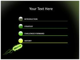 Bacteria PowerPoint Templates and image Backgrounds