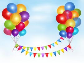 Balloon Clip Art Backgrounds