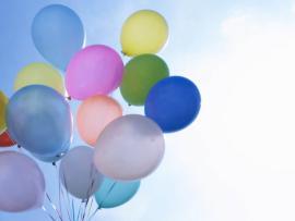 Balloons Light Clipart Backgrounds