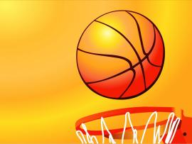 Basket ppt backgrounds basket slides ppt backgrounds for free basketball hoop sport orange sports yellow ppt slides backgrounds toneelgroepblik Image collections