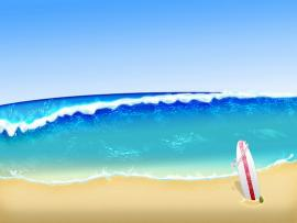 Beach Graphic Backgrounds