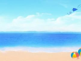 Beach PowerPoint  Frees Cliparts Clipart Backgrounds