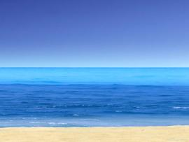 Beach View PowerPoint Clipart Backgrounds