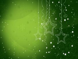 Beautiful Green Christmas Clip Art Backgrounds