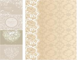 Beige Wedding Vector  Free Vectors & Images In EPS and AI   Slides Backgrounds