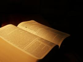 Bible Book On Black Backgrounds