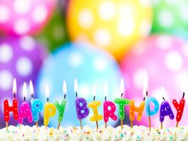 Birthday Burning Candle Download Backgrounds