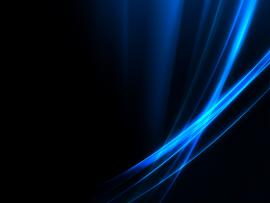 Black and Blue Abstract Desktop Slides Backgrounds