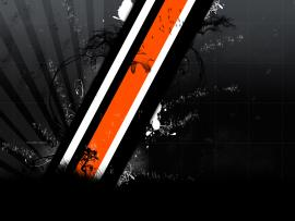 Black and Orange Mud Clipart Backgrounds