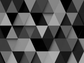 Black and White Triangle Full Hd Design Backgrounds