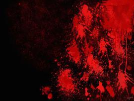 Black Blood Slides Backgrounds