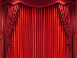 Black Red Stage Curtains Velvet Stage Download Backgrounds
