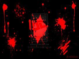 Blood Splatter By Fireflyhikari On DeviantART Frame Backgrounds