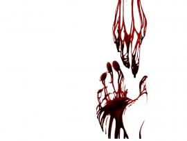 Bloody Hand Presentation Backgrounds