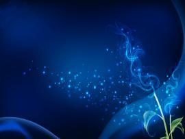 Blue Abstract Foam Bubbles Slides Backgrounds