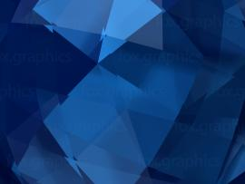 Blue Abstract Triangles Quality Backgrounds