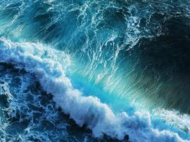Blue and Dark Waves Backgrounds