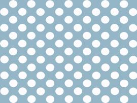 Blue and White Polka Dot Slides Backgrounds