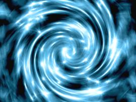 Blue and White Swirl Art Backgrounds