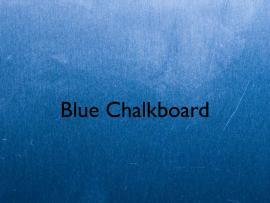 Blue Chalkboard Keynote Template  Free IWork Templates Frame Backgrounds