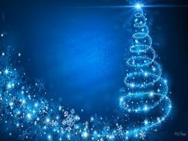 Blue Christmass Clipart Backgrounds