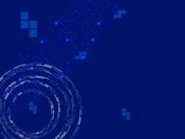 Blue Cyberic Tech  Blue Technology  PPT image Backgrounds