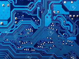 Blue Digital Circuit Board Backgrounds