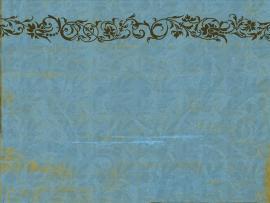 Blue Floral Vintage Decoration  Backgrounds